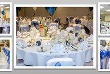 Venue dressing / Here's a few pictures from venues that we've been to. You may get some ideas for the Wedding of you dreams.