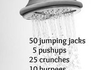 pre shower workouts