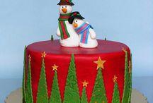 christmas cake - vánoční dorty