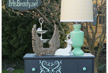 stencilled Furniture Projects