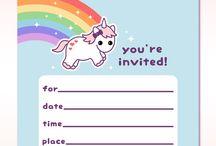 Fødselsdagsinvitation