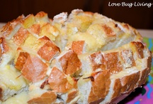 Bloomin cheese bread for wonderful snacks for parties and appetizers... / Wonderful