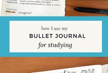 Study Ideas // Opiskelu // bullet journal