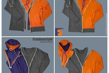 """Interchangeable Clothing. Abbigliamento ad Elementi Componibili / L'abbigliamento ad elementi componibili conferisce maggiore libertà, potere creativo e decisionalità al cliente del mondo moda. Un abito che è anche """"giocabile"""" e rappresenta l'esatto opposto del prodotto """"chiavi in mano"""" offerto dalle grandi griffes. (Source: https://www.facebook.com/FrankenstyleClothing )"""