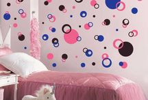 Attractive And Wonderful Bedroom Design Ideas With Wall Polka Dot Ideas