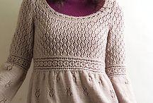 Knitting dress jurk free pattern