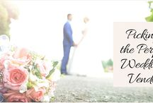 Picking the Perfect Wedding Vendor / This guide will walk you through the vendor selection process so that you can not only select the perfect vendor – but make sure the wedding goes great with the person you have selected.  http://www.kimberleyandkev.com/picking-the-perfect-wedding-vendor/