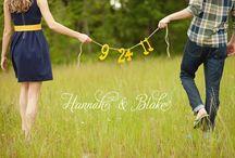 Engagement photo Ideas / by Rachael Kloss