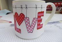 Pottery: Valentine's