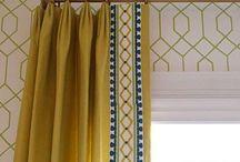 Trim border Curtains