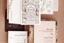 wedding invites / by Suzy Stelmaszek