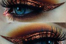 Steampunk Makeup & Nails / Steampunk Makeup & Nails