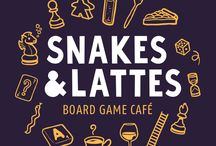 Board Game Cafe Logos
