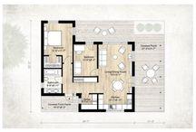 casa cu 2 dormitoare