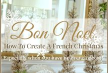 French Christmas decorating