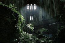 Заброшенная архитектура