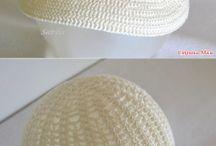 Gorras en crochet
