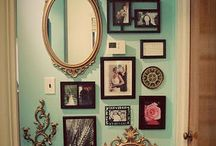 wall displays / by Carrie Worthington