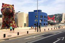 Urbanisme Bilbao / L'urbanisme, art de rue et culture à Bilbao