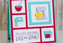 Homemade Gift-Giving / Life is A Kitchen and Flippin' Awesome collections from TE / by Taylored Expressions