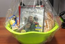 Gift baskets for work / by Sandra Finigan