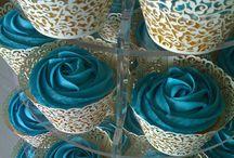 Blue cupcake ideas
