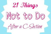 C Section Tips