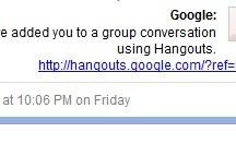 School- Google Hangouts