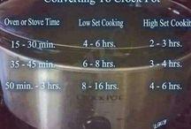 crock pot opskrifter / indsamling af crock pot opskrifter til når jeg får en crock pot