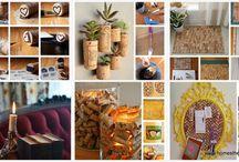 Craft Ideas with Cork / by Debbra Brouillette