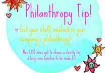 Philanthropy / 0 / by Leonie Dawson :: LeonieDawson.com