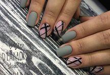 matte nails opache