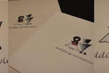 My wedding stationery designs