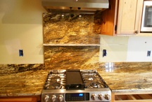 Granite colors for oak cabinets