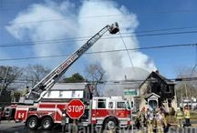 Elizabeth City Fire Department at Work