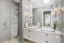 Hamptons bathroom
