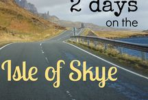 Isle of Skye / A road trip on the Isle of Skye, in Scotland, is what you want to do if you head there!