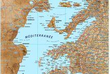 Mediterranée (cartes)