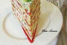 овощные торты