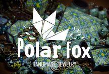 Polarfox jewelry / This jewelry made by me