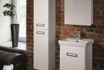 Řešení pro malé koupelny / I malé koupelny si zaslouží krásný nábytek...