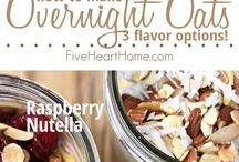 Overnightoats, Porridge und Co