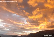 Sunset sequences 8 / Sunset sequences over the Andes, Pichincha volcano, Quito, Ecuador