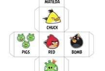 English for kids - Angry Birds
