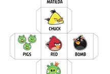 English for kids - Angry Birds