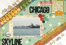 Design-On the Diagonal / scrapbook page designs featuring layouts on a diagonal