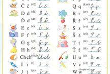 abeceda -pismenka