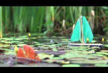 plávajúce jazierka