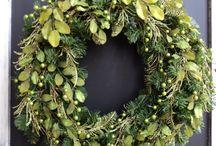 Gröna dekorationer