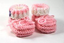 Babysachen stricken und häkeln